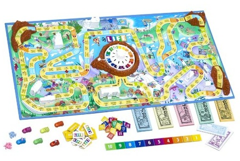 Life Game Board Spaces in your car game piece