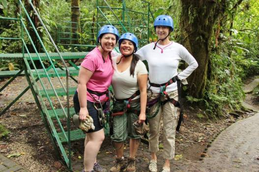 We're ready for some zip-lining fun!
