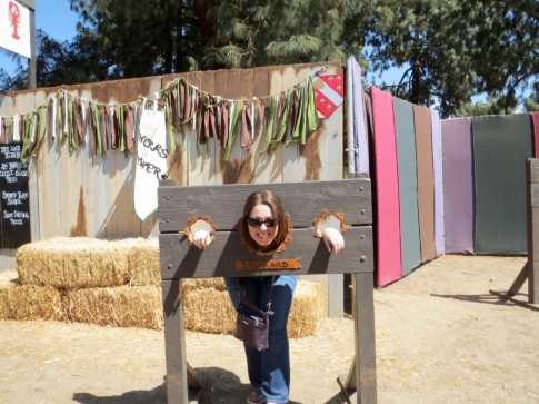 I had not indulged in a single adult beverage when I was thrown in the stocks.